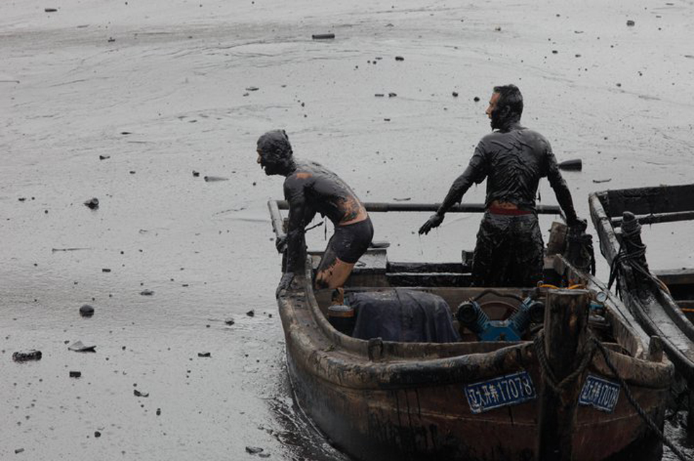 Eventi Arte Venezia, Jiang He, Oil Spill in China 2