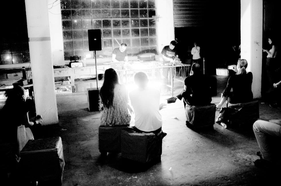 Favaron e Balestrazzi - Live Set @ Padiglione Palmanova. Foto di Stefano Gentile