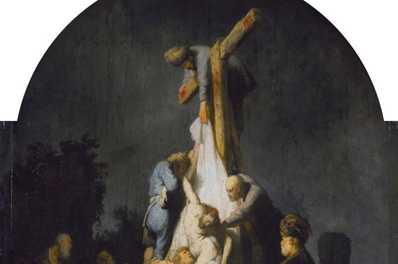 Deposizione dalla croce, Rembrandt.